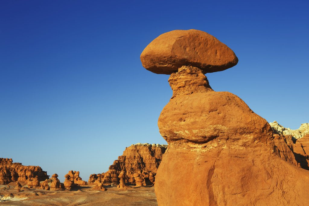 Detail of Eroded landscape in Goblin Valley by Corbis