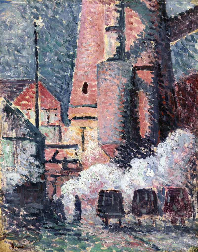Detail of Charleroi by Maximilien Luce