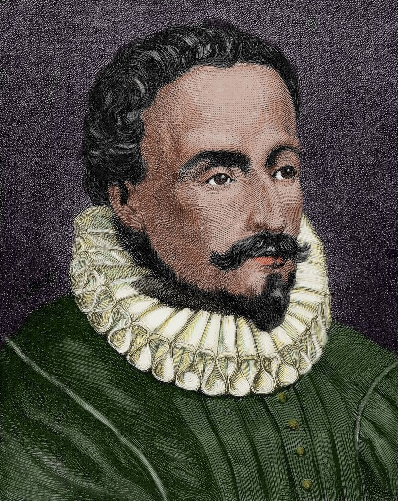 Another picture of Miguel de Cervantes