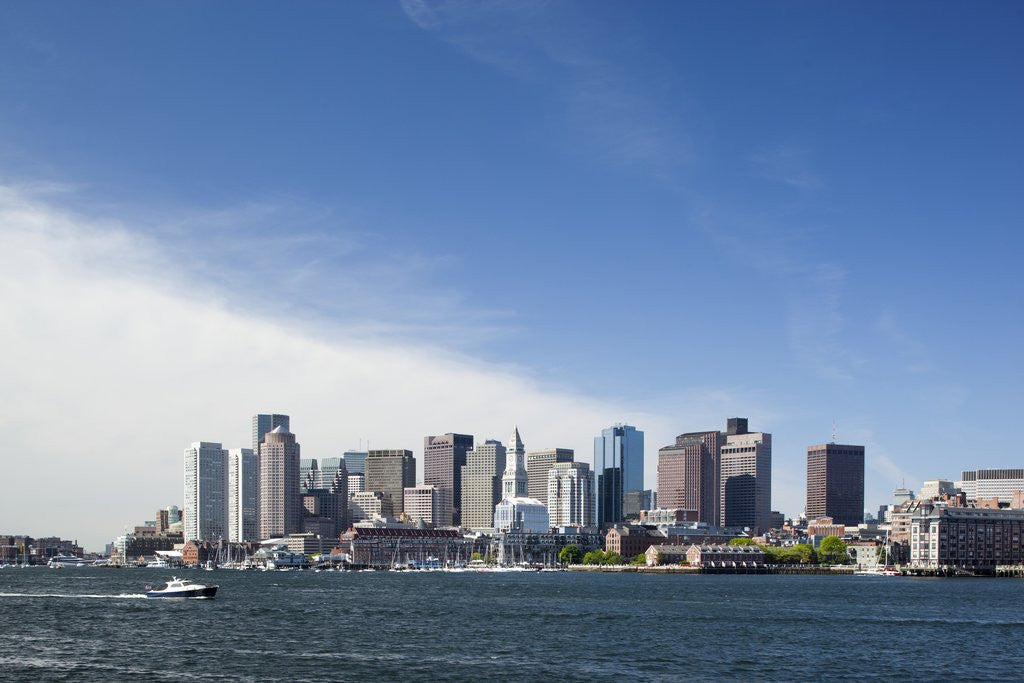 Detail of Boston Skyline, Massachusetts by Corbis