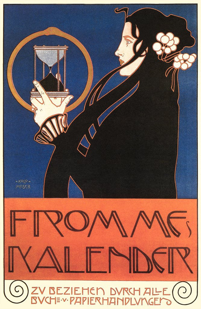 Detail of Advertisement for Fromme's Calendar by Corbis