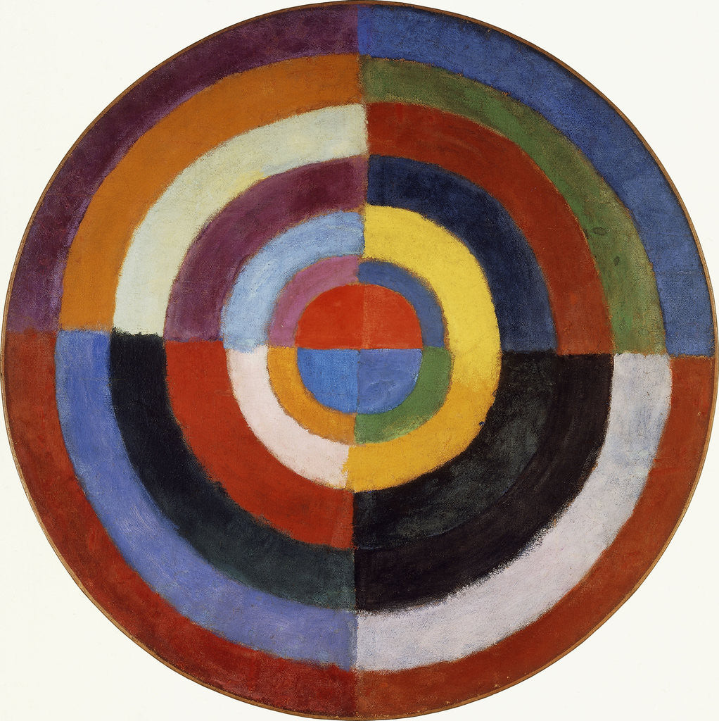 Detail of First Disc by Robert Delaunay