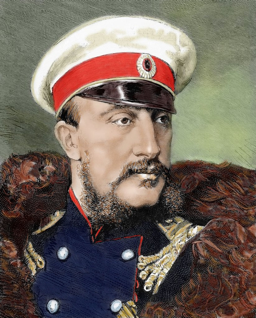 Detail of Grand Duke Konstantin Nikolayevich of Russia (1827-1892). by Corbis