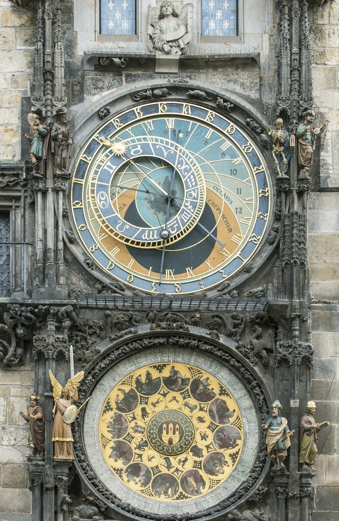 Detail of Astronomical Clock by Corbis