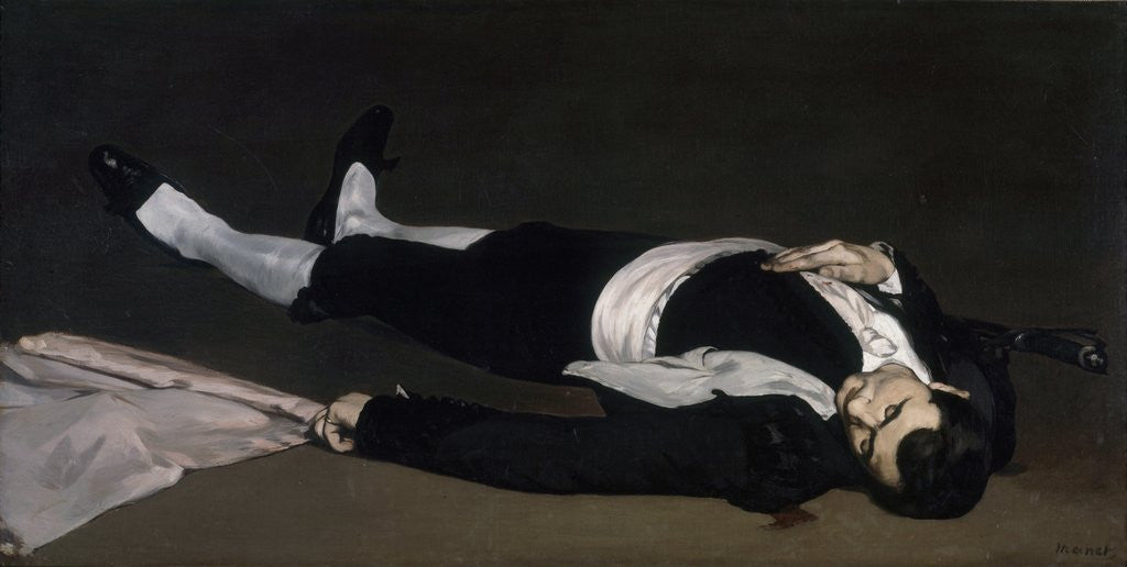Detail of The Dead Toreador by Edouard Manet