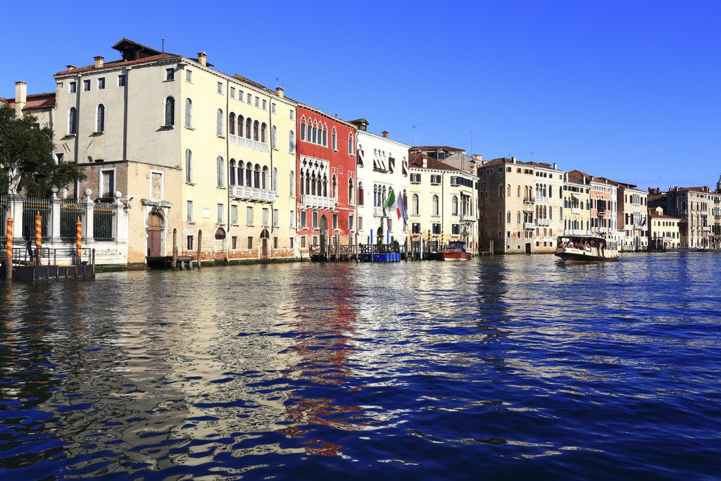 Detail of Canal Grande by Corbis