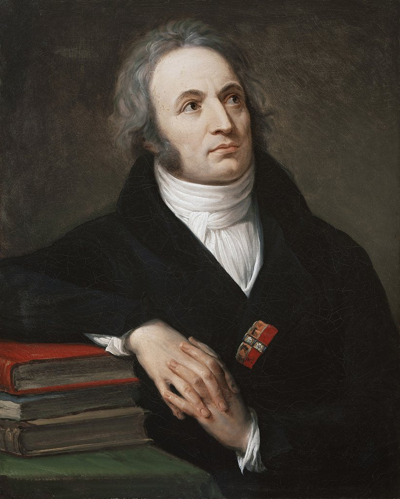 Detail of Portrait of Vincenzo Monti by Andrea Appiani