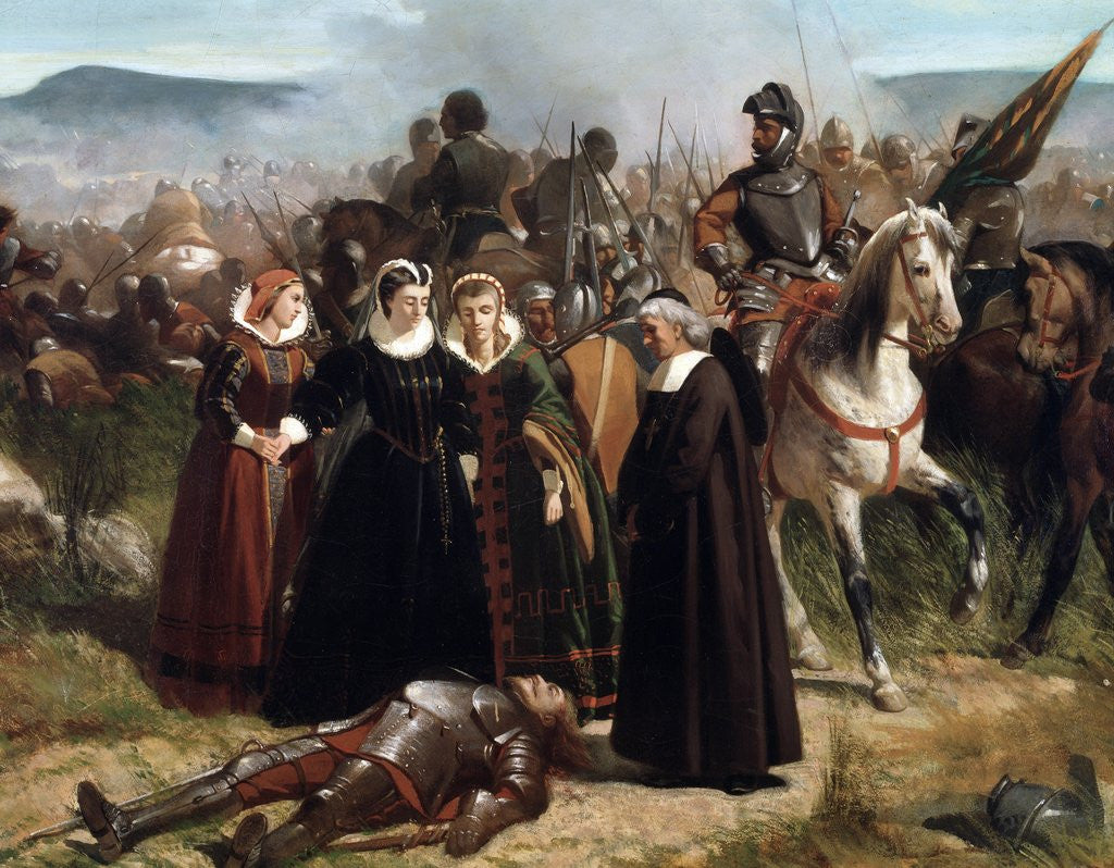 Detail of Detail of Mary Queen of Scots, at the Battle of Langside, Fought