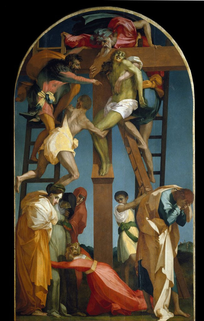 the descent from the cross posters prints by rosso fiorentino