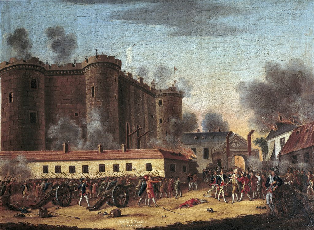 This is a picture of Slobbery Storming Of The Bastille Drawing