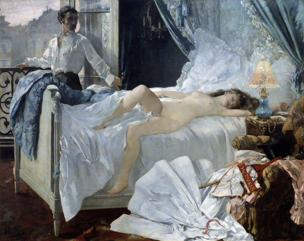 Detail of Rolla by Henri Gervex