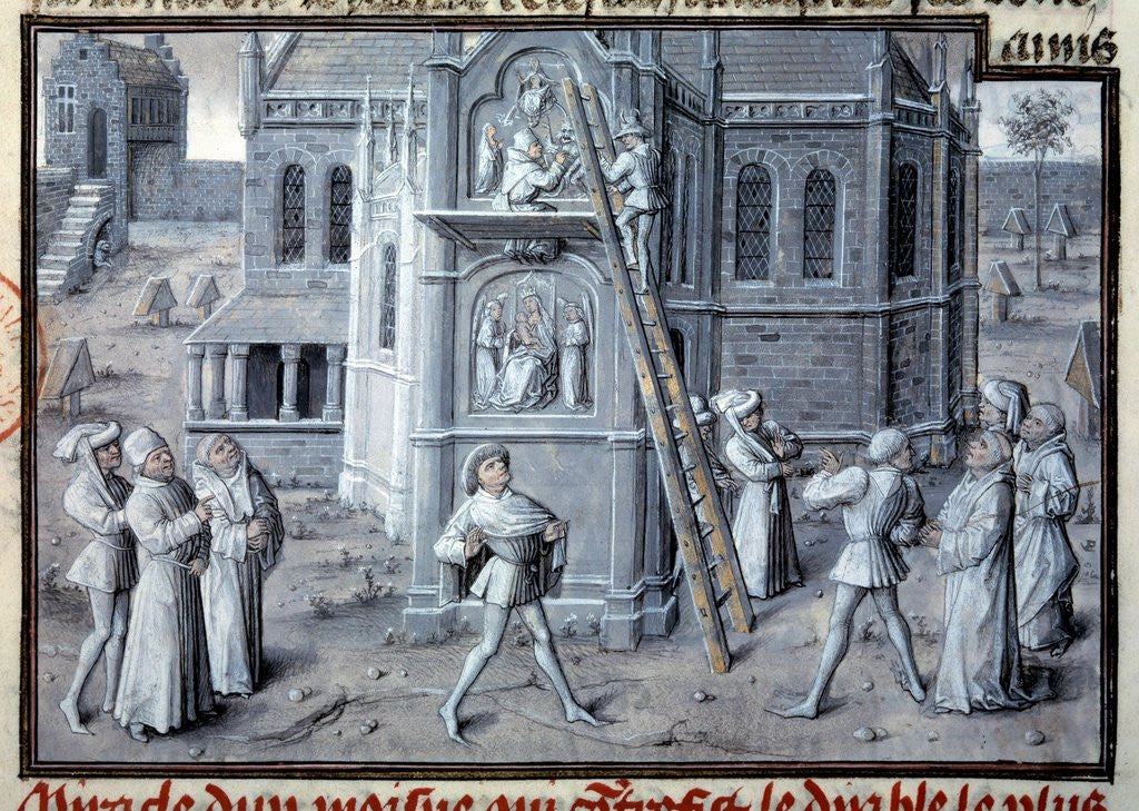 The building of the Gothic cathedrals - 15th century