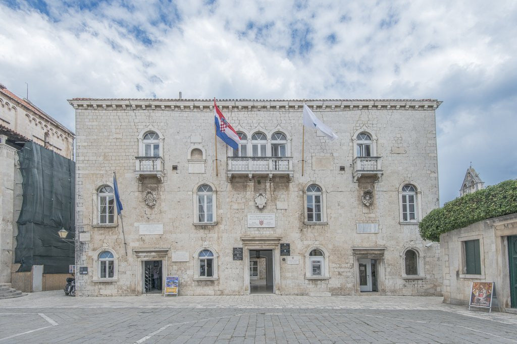 Detail of Trogir City Hall by Corbis