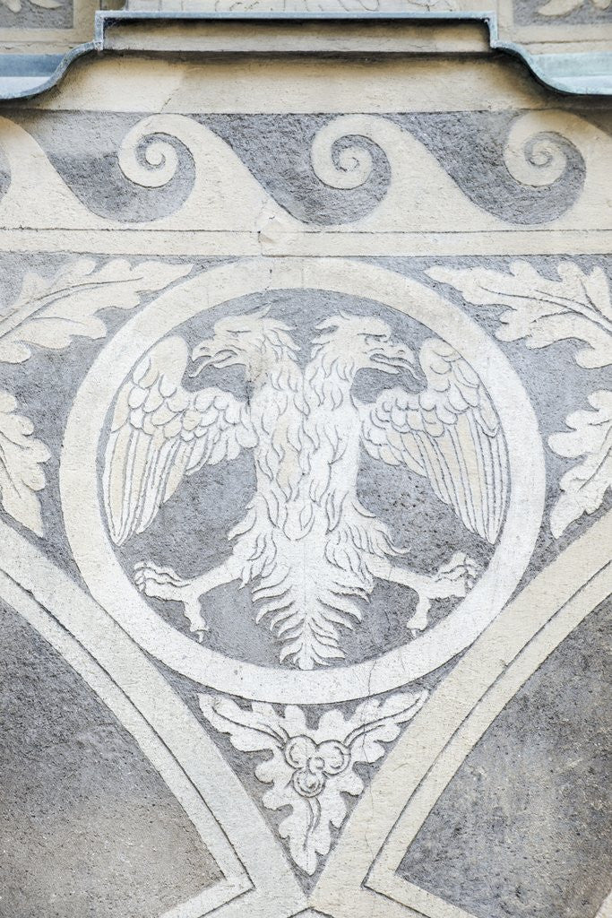 Detail of Double Headed Eagle by Corbis