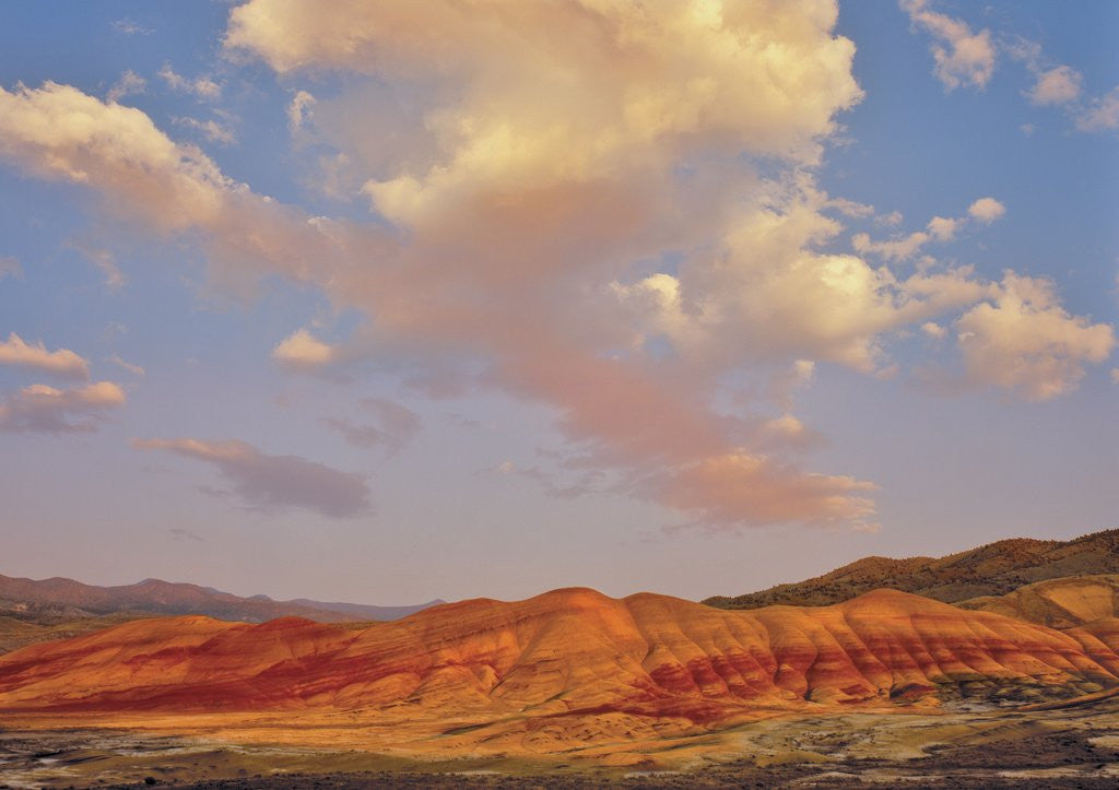 Detail of Painted Hills National Monument by Corbis