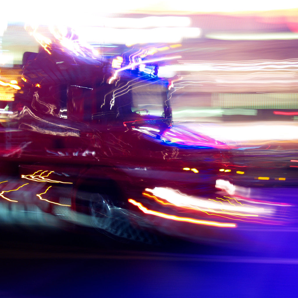Detail of London Blur by Mark Varley