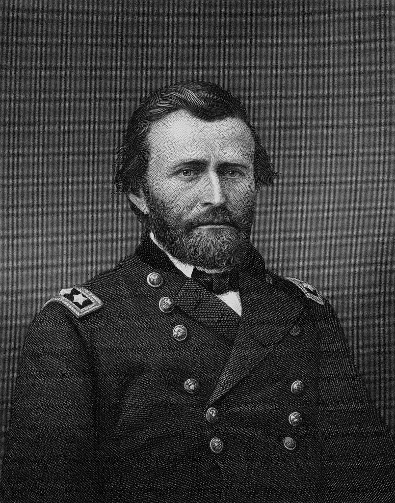 Detail of General Ulysses S. Grant by Robert E. Whitechurch