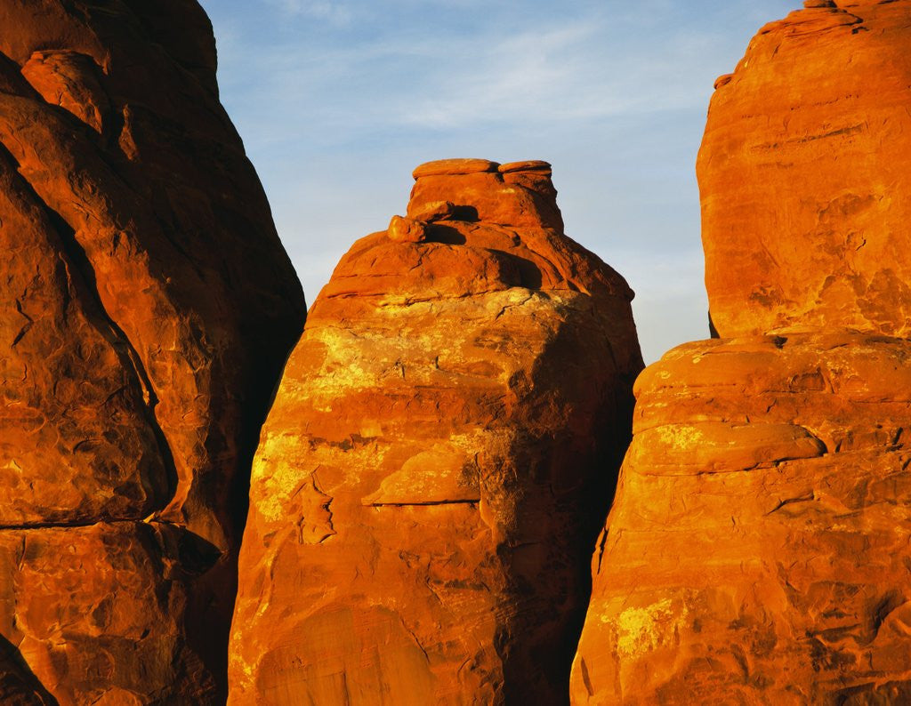 Detail of Devils Garden Sandstone Monuments by Corbis