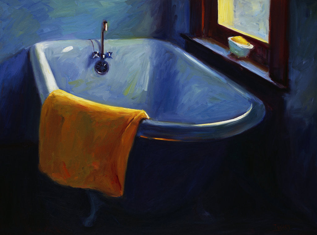 Detail of Blue Tub by Pam Ingalls