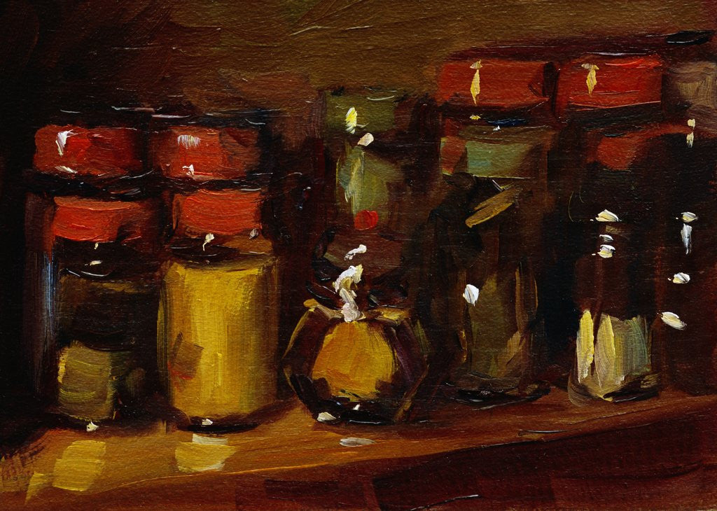 Detail of Spices by Pam Ingalls