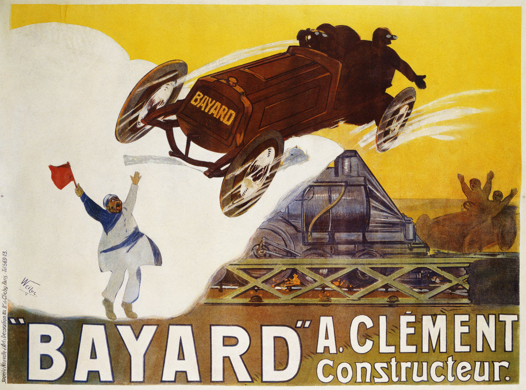 Detail of Bayard Poster by Weiluc