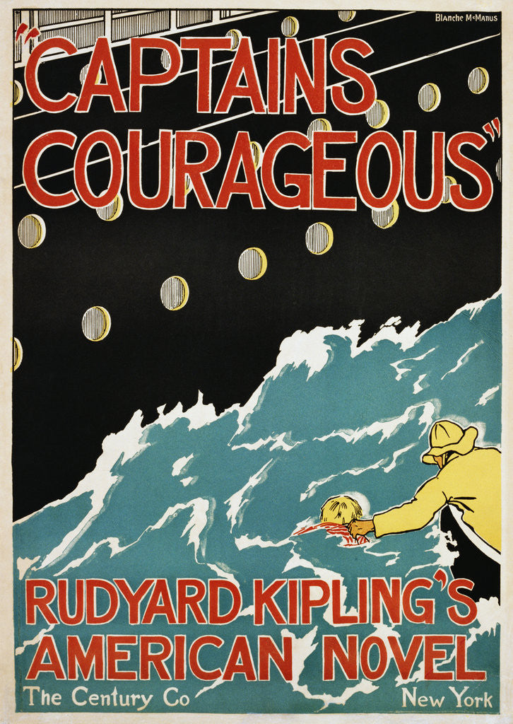 Detail of Captains Courageous Poster by Blanche McManus