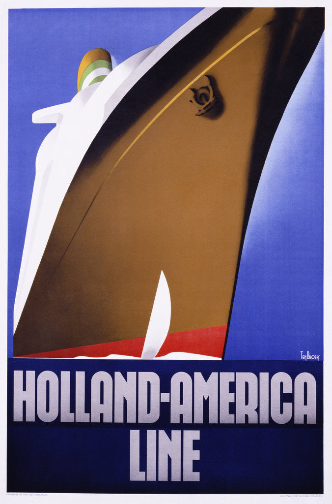Detail of Holland-America Line by Ten Broek