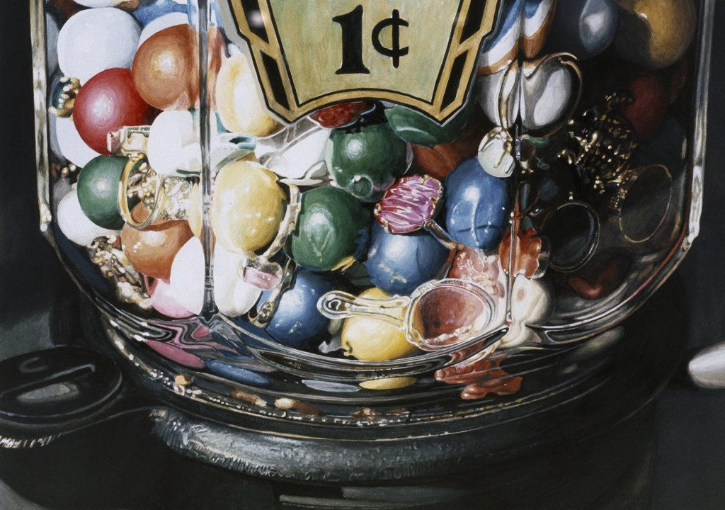Detail of Gumball by Charles Bell
