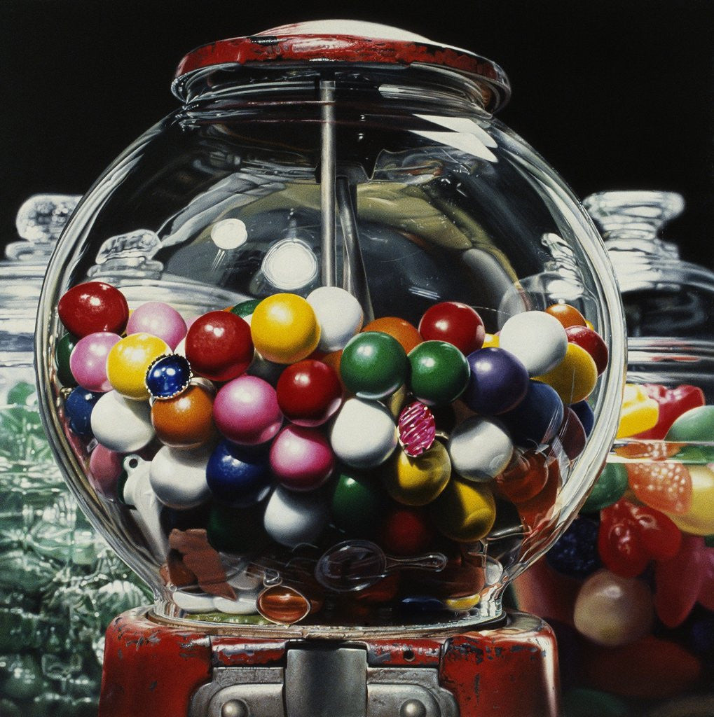 Detail of Gumball 14 by Charles Bell