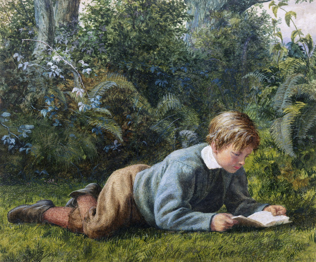 Detail of A Quiet Read by William Bromley