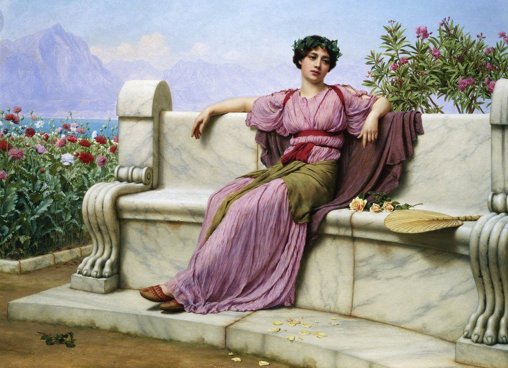 Tranquility by John William Godward