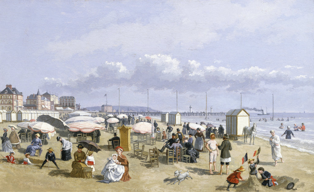 Detail of A Beach Scene by John Gadsby Chapman