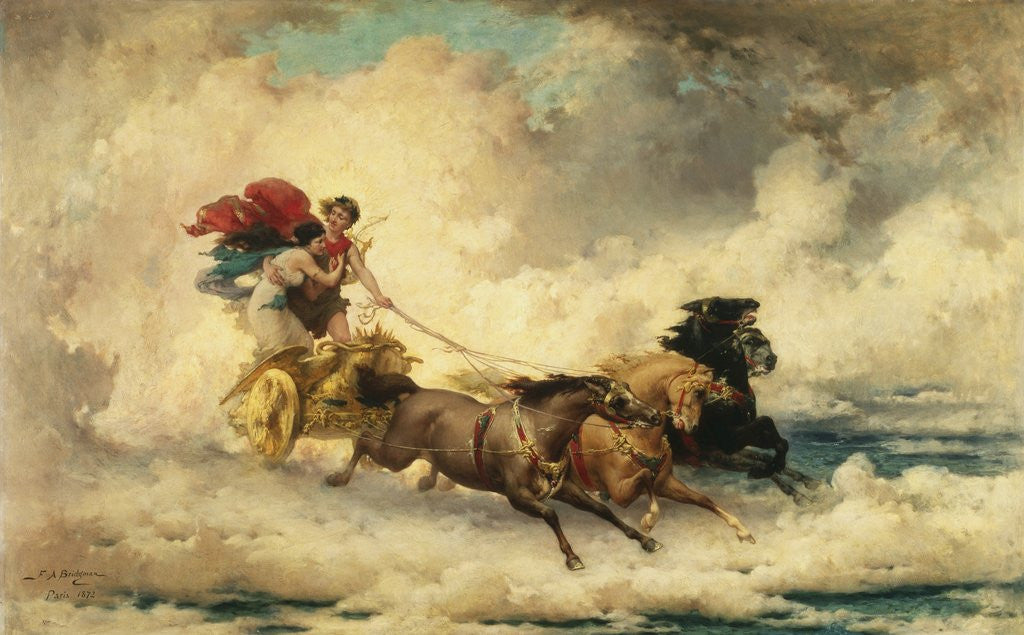 Apollo in the Chariot of the Sun by Frederik Arthur Bridgman