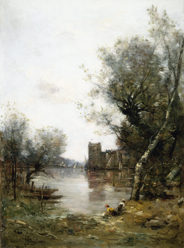 Detail of By the River by Maurice Levis