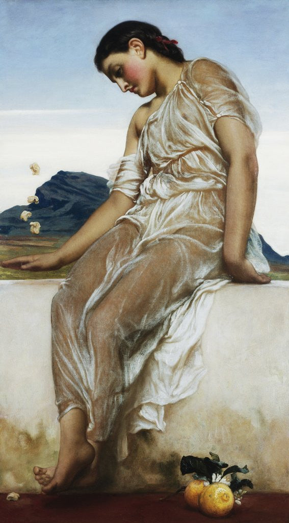 The Knucklebone Player Posters Amp Prints By Frederic Leighton