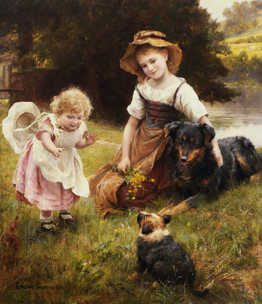 Detail of Clean as a New Pin by George Hillyard Swinstead