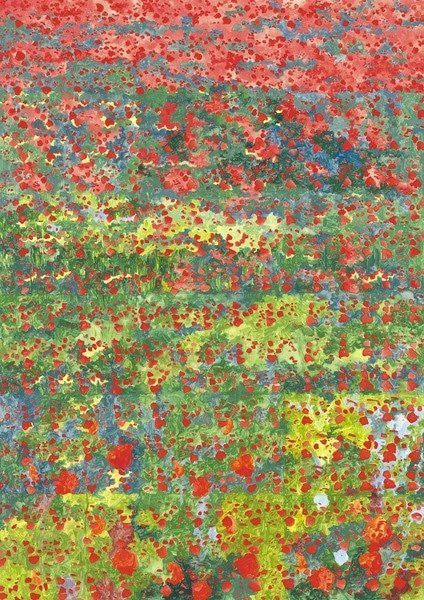 Detail of Poppies by Leigh Glover