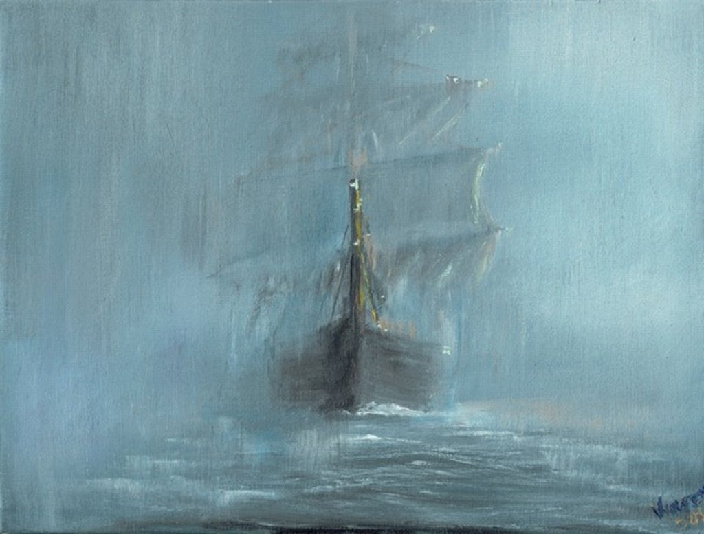Detail of Mary Celeste by Vincent Alexander Booth
