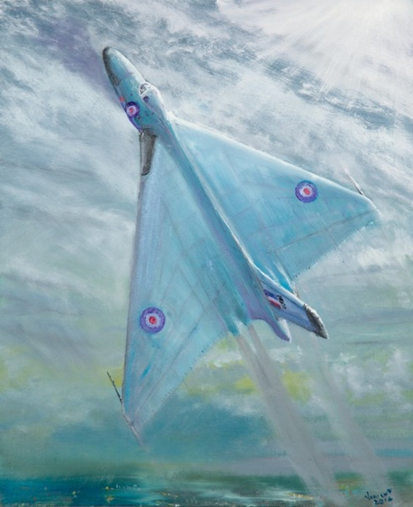 Detail of Avro Vulcan B1 Night flight by Vincent Alexander Booth