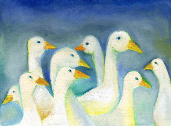 Detail of Gaggle by Nancy Moniz Charalambous