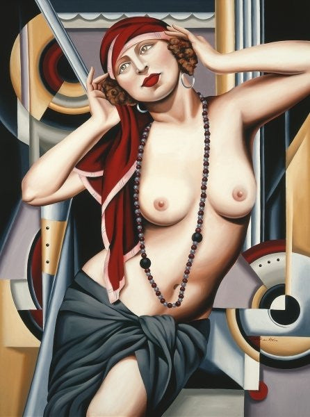 Detail of Postcards from Paris by Catherine Abel