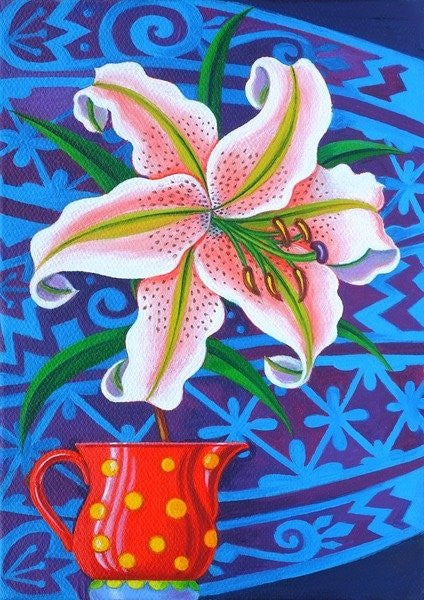 Detail of Lily by Jane Tattersfield