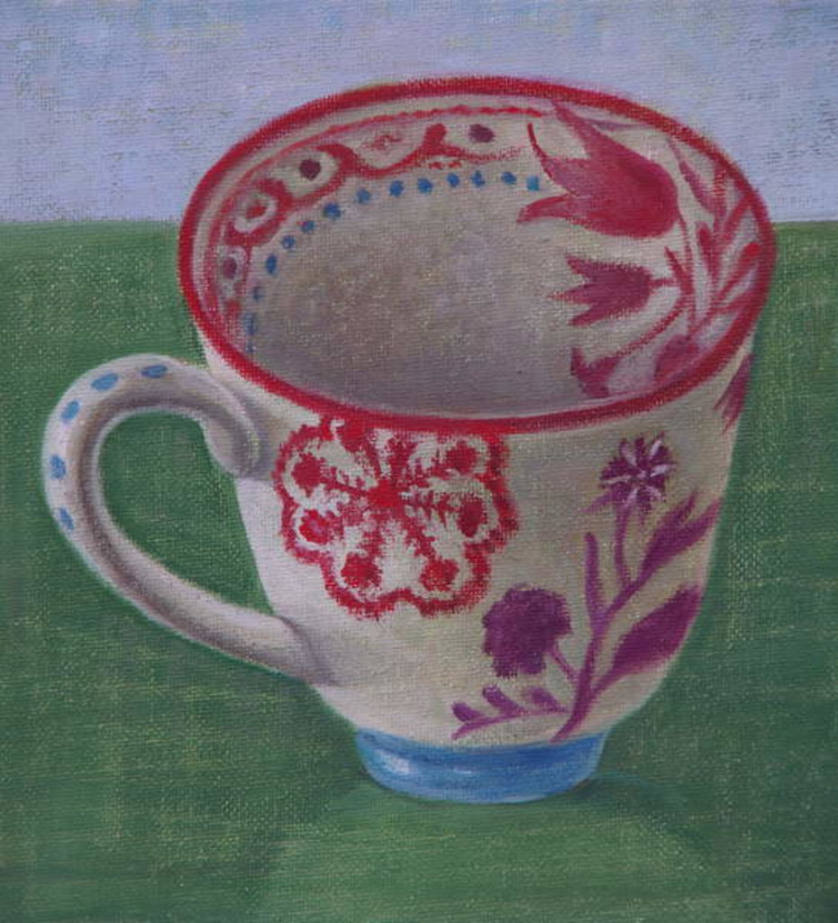 Detail of Anthropologie Cup by Ruth Addinall