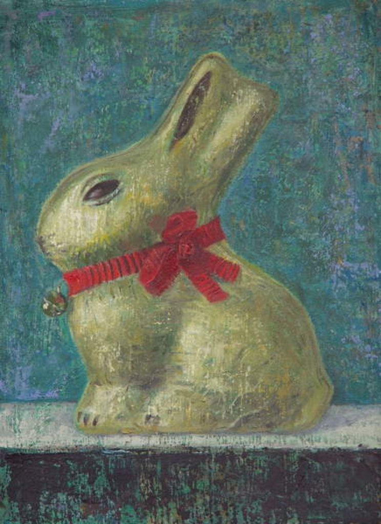 Detail of Lindt Bunny by Ruth Addinall