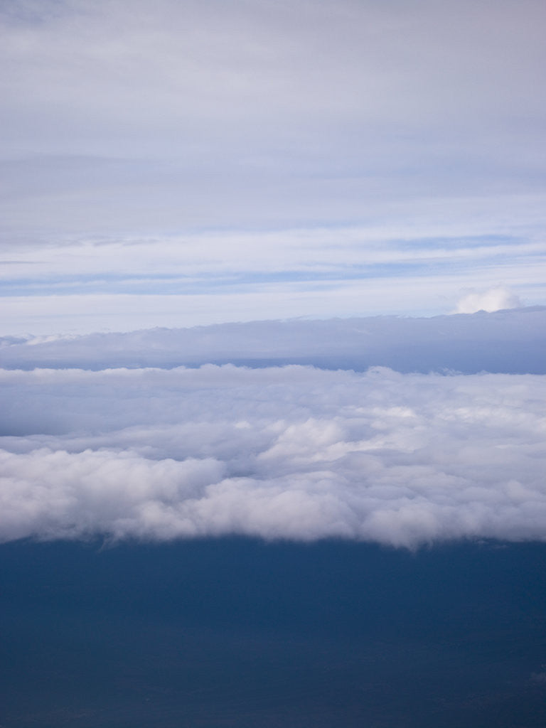 Detail of Clouds, aerial view by Assaf Frank