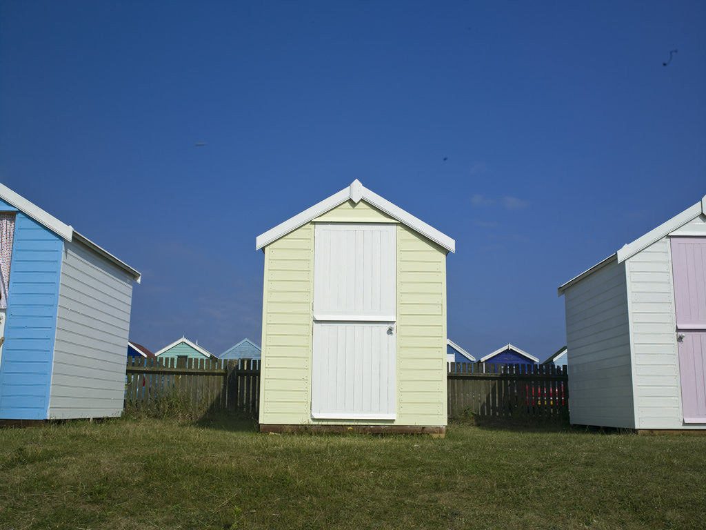 Detail of Beach Huts by Assaf Frank