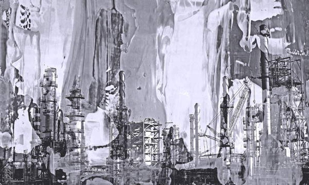 Detail of Factory,2019 by Alex Caminker