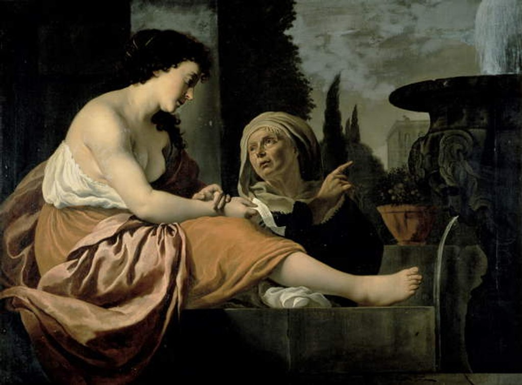 Detail of Bathsheba at her Toilet by Jan Gerritsz. van Bronckhorst