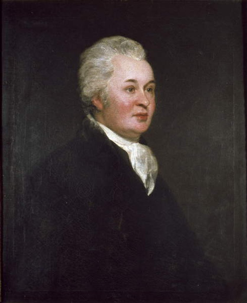 Detail of Reverend James Douglas by Thomas Phillips