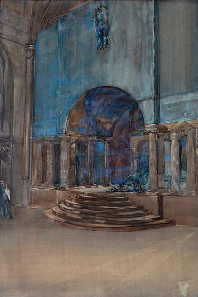 Detail of Art Workers' Guild Masque, 1917 by Henry Wilson